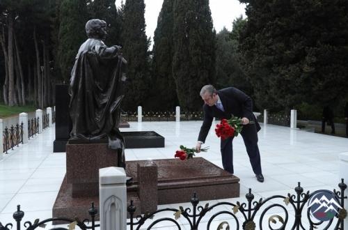 Gürcüstanın Baş naziri Giorgi Kvirikaşvili Azərbaycana rəsmi səfərə gəlib