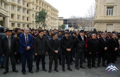 AzTU-da möhtəşəm Novruz şənliyi keçirilib