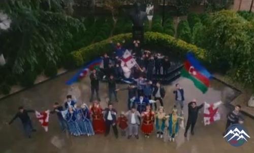 Gürcüstandan İlham Əliyevə şok dəstək - Video