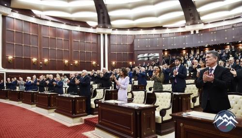 Azərbaycan Respublikasının Prezidenti İlham Əliyevin andiçmə mərasimi olub