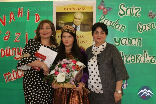 """""""Vahid Əziz dünyasının möcüzəsi"""" adlı görüş"""