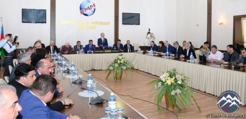 """""""Heydər Əliyev siyasəti: hüquqi dövlət quruculuğunda media təminatı"""" mövzusunda konfrans keçirilib"""