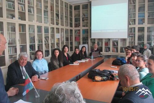 Hacettepe Universitetində görüş
