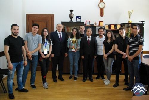 """AzTU-nun """"Şən Hazırcavablar Klubu"""" qalib oldu"""