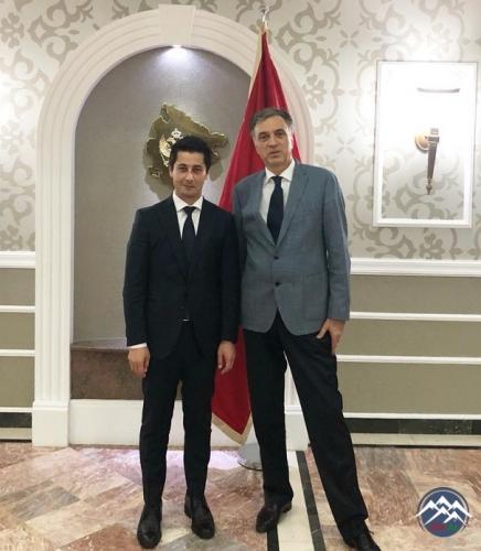 Monteneqro Prezidenti Nizami Gəncəvi Beynəlxalq Mərkəzinin Baş katibini qəbul edib