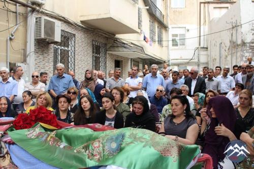 Müşfiq Cabiroğlu son mənzilə yola salınıb  - YENİLƏNİB
