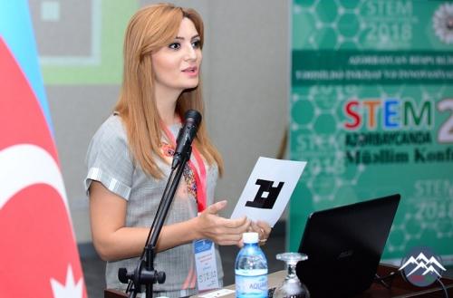 """""""STEM Azərbaycanda 2018"""" Müəllim Konfransı keçirilib"""