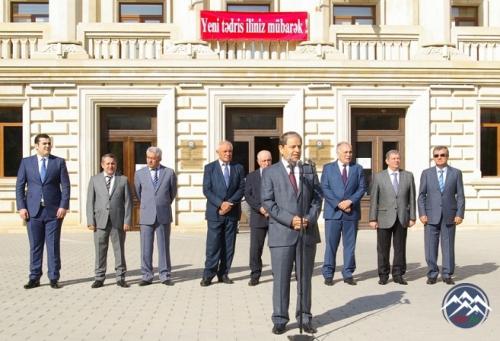 """AzTU-da yeni tədris ilinin başlanmasına və """"Bilik Günü""""nə həsr olunmuş tədbir keçirilib"""