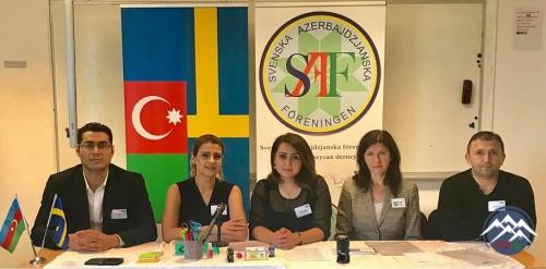 SAF – İsveç-Azərbaycan Assosiasiyası ölkəmizi uğurla təmsil edir