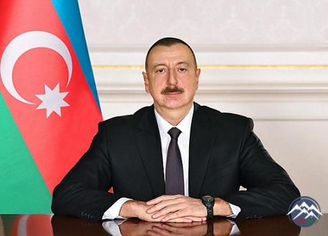 Azərbaycan Respublikasının Prezidenti İlham Əliyev Gürcüstanın yeni seçilmiş Prezidentinə təbrik məktubu ünvanlayıb