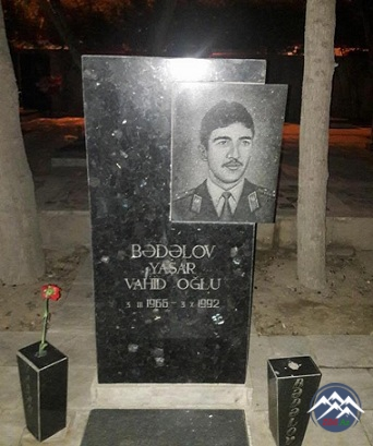 ŞƏHİD YAŞAR VAHİD oğlu BƏDƏLOV - KƏPƏNƏKÇİ (1966-1992)