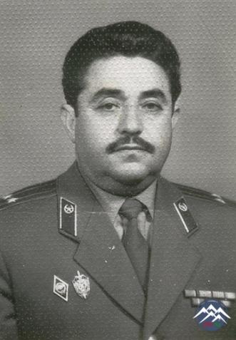 Ədliyyə polkovniki NƏBİ NƏBİYEV  (1932)
