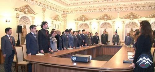 Diasporla İş üzrə Dövlət Komitəsində 20 Yanvar faciəsinin qurbanları anılıb