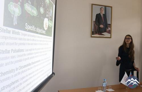 """""""HORIZON 2020"""" qrant proqramı Şamaxı Astrofizika Rəsədxanasında fəaliyyətə başladı"""