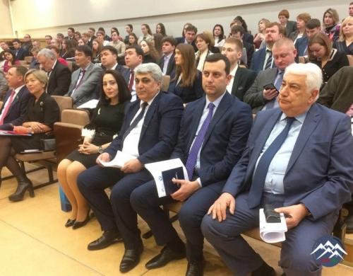 MDB PAA DİMBİ Bakı filialının direktoru Sankt-Peterburqda keçirilmiş  beynəlxalq konfransda çıxış edib
