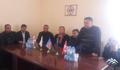 Gürcüstan Azərbaycanlıları Konqresində Xocalı faciəsi qurbanlarının xatirəsi anılıb