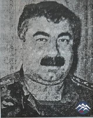 Polkovnik VAQİF ADİL OĞLU BAYRAMOV (1961-2006)