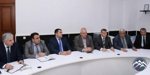 """""""Azərkosmos"""" ASC-nin nümayəndələri ilə Azərbaycan Texniki Universitetində olublar"""