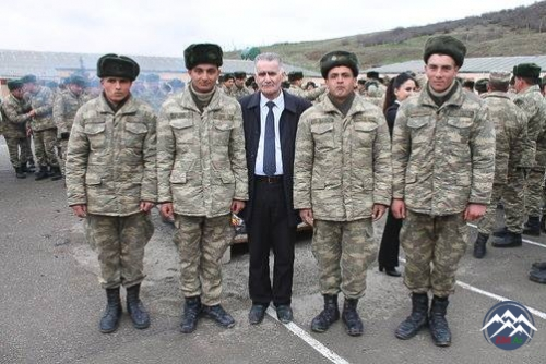 Ön cəbhədə Novruz tonqalları qalandı!