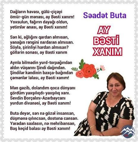 AY BƏSTİ XANIM!..