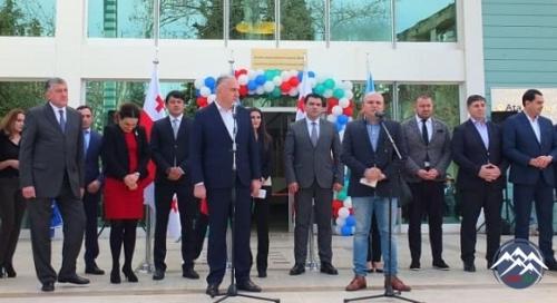 Marneulidə Azərbaycanlıların İnteqrasiya Mərkəzi istifadəyə verilib