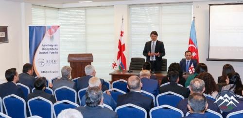 Azərbaycan Diasporuna Dəstək Fondunun Gürcüstanda təqdimatı olub
