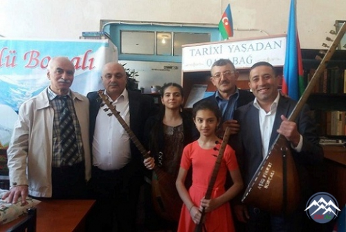 """""""Sazlı-Sözlü Borçalı"""" Ədəbi Məclisinin növbəti 14-cü toplantısı"""