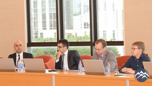 """""""Hüquq və rəqəmsallaşma"""" - """"Law and Digitalization"""" mövzusunda seminar keçi ..."""