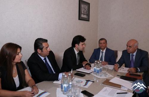 """AzTU və """"Azərbaycan Dəmir Yolları"""" QSC arasında bağlanmış əməkdaşlıq müqaviləsi çərçivəsində görüləcək işlər müzakirə edilib"""