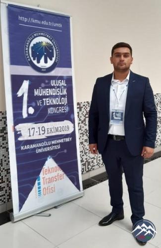 AzTU-nun magistrantı Beynəlxalq konfransda iştirak edib