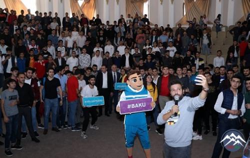 """AzTU-da """"Avro 2020""""nin Könüllülər Proqramının təqdimatı keçirilib"""