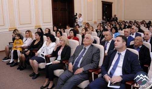 """""""Azərbaycan dilçiliyinin aktual problemləri"""" mövzusunda respublika elmi konfransı keçirilib"""