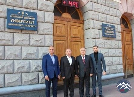 AzTU və Ukrayna Dövlət Dəmiryol Nəqliyyatı Universiteti arasında əməkdaşlıq genişlənir