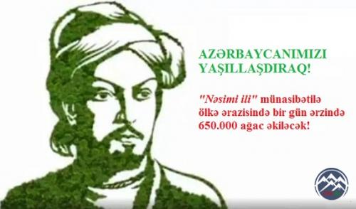"""Balaqusar kənd məktəbi də """"650 min ağac əkək!"""" təşəbbüsünə qoşlub"""
