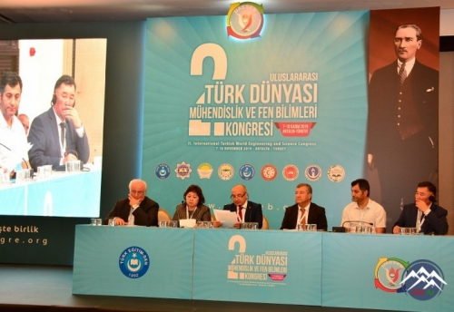 Azərbaycanlı alimlər II Beynəlxalq Türk Dünyası Mühəndislik və Fənn Elmləri konfransında iştirak ediblər