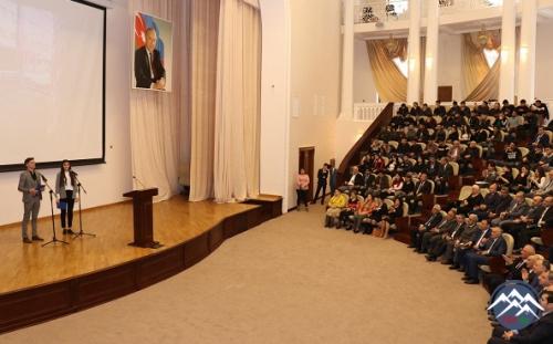 AzTU-da BDU-nun 100 illik yubileyinə həsr olunan tədbir keçirilib