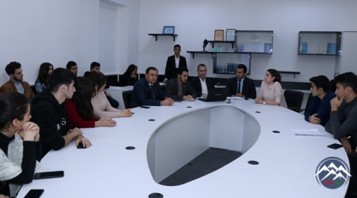 Azərbaycan İnnovasiya Agentliyinin nümayəndələri AzTU-da tələbələrlə görüşüblər