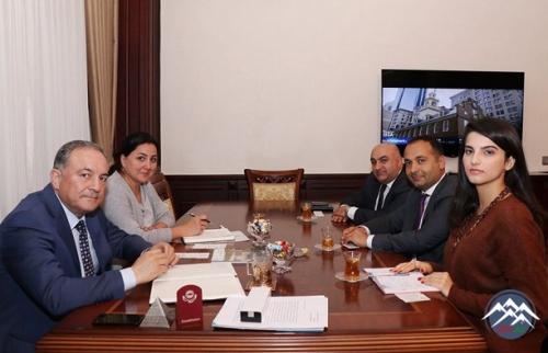 Diasporla İş üzrə Dövlət Komitəsinin nümayəndələri AzTU-da olublar