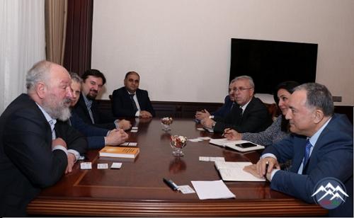 Sankt-Peterburq Dövlət Universitetinin nümayəndələri AzTU-da olublar