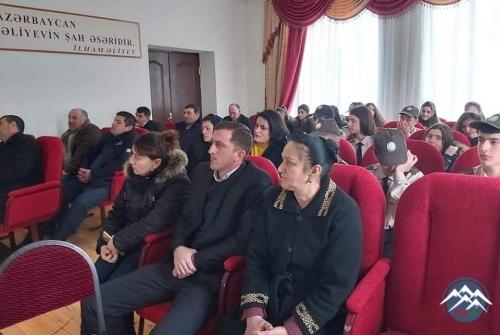 Balaqusar kənd məktəbində şəhidin xatirəsi anılıb