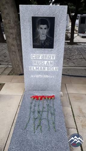 ŞƏHİD Cəfərov Ruslan Elman oğlu (1975-1994)