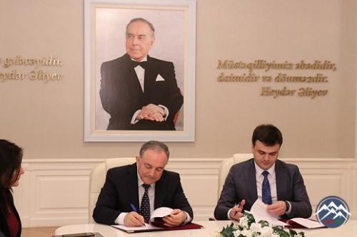 AzTU ilə Abşeron Logistika Mərkəzi arasında əməkdaşlıq memorandumu imzalanı ...