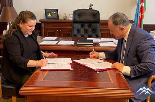 AzTU ilə Türkiyənin Kütahya Dumlupınar Universiteti arasında memorandum imz ...
