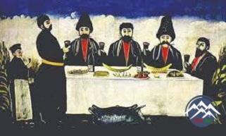 """İosif Qrişaşvilinin """"Qədim Tiflisin ədəbi boheması"""" əsərindən  bir parça"""