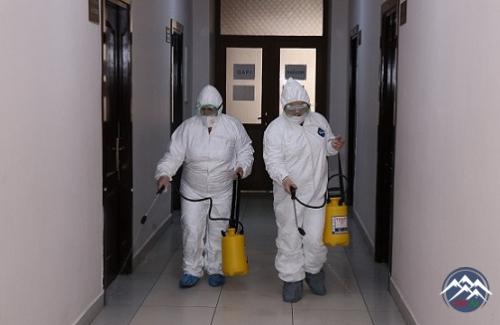 AzTU-da dezinfeksiya işləri aparılıb
