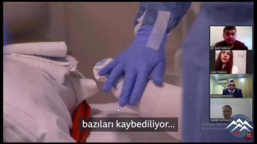 Türkiyəli həkim müəllimlərə onlayn seminar keçib
