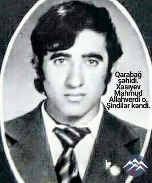 Şəhid Mahmud Xasiyev Başkeçidli (1960-1992)