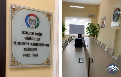 Gəncə Alüminium Kompleksində AzTU-nun Metallurgiya və materialşünaslıq fakültəsinin filialı açılıb