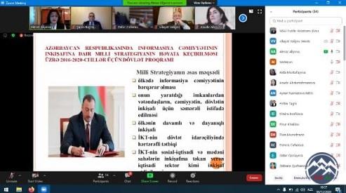 AzTU və MDU-nun birgə təşkilatçılığı ilə növbəti nəzəri-praktiki seminar keçirilib