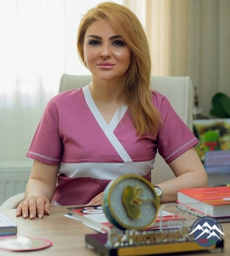 Tibb üzrə fəlsəfə doktoru, dosent Fatimə Hacıyeva (1979)